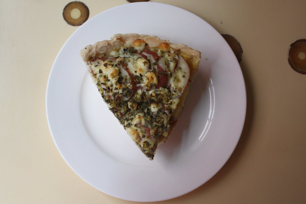 Blue Cheese and Red Potato Tart | Oh.man. This is good. But ...