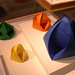 Origami shapes: 'Buds,' by Jeannine Mosely