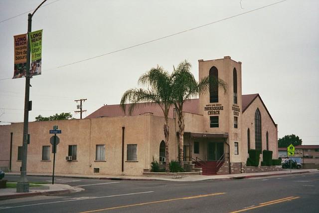 North Long Beach Foursquare Church Long Beach California Flickr