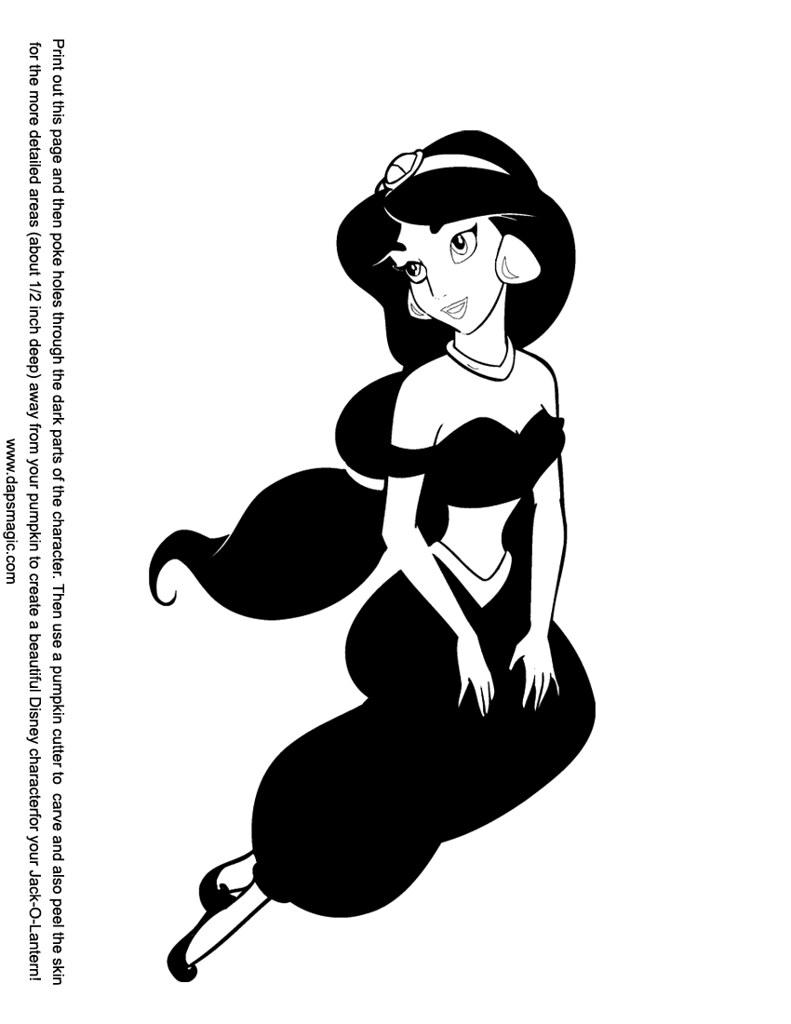 Free Jasmine Scoring Pattern | From DAPs Pumpkin Carving ...