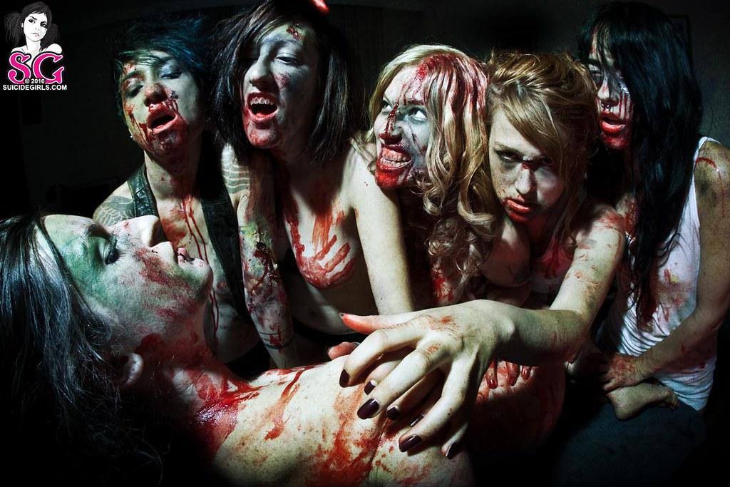 Nude Zombie Girl