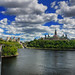 Sun and clouds on Ottawa, Ontario | davidgiralphoto.com