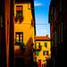 Side street, Pienza, Tuscany, September 2006