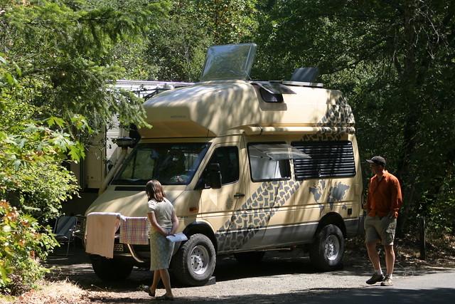 Mercedes Camper Van >> Westfalia | The Westfalia in its natural habitat. This speci… | Flickr