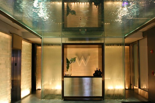 w hotel times square lobby flickr photo sharing. Black Bedroom Furniture Sets. Home Design Ideas