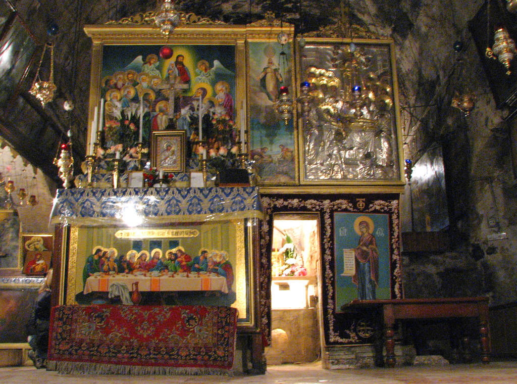 Kidron Valley Tomb Of The Virgin Mary The Edicule On T
