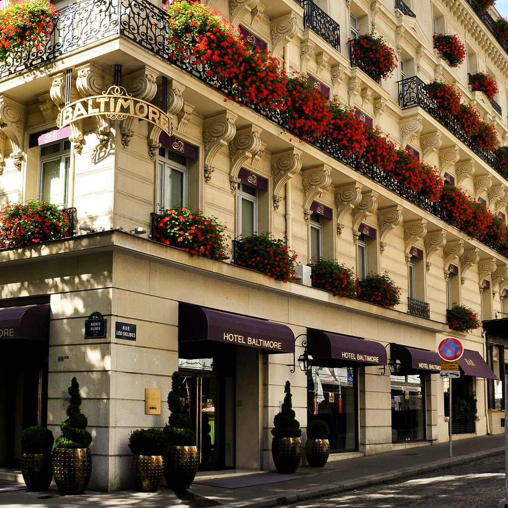 Hotel baltimore on avenue kleber paris hotel baltimore for Hotel baltimore paris