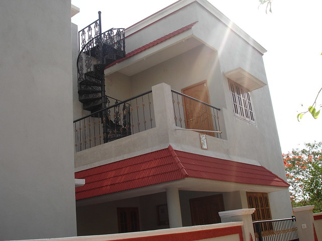 Front Elevation House Balcony : Balcony front elevation manjunath saravaiah flickr