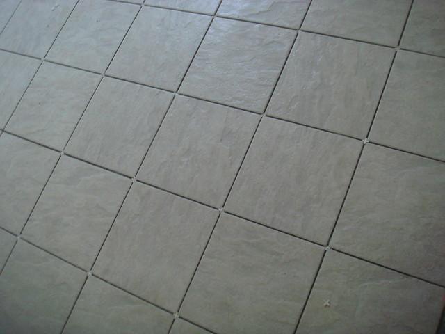 Kitchen Floor Grout