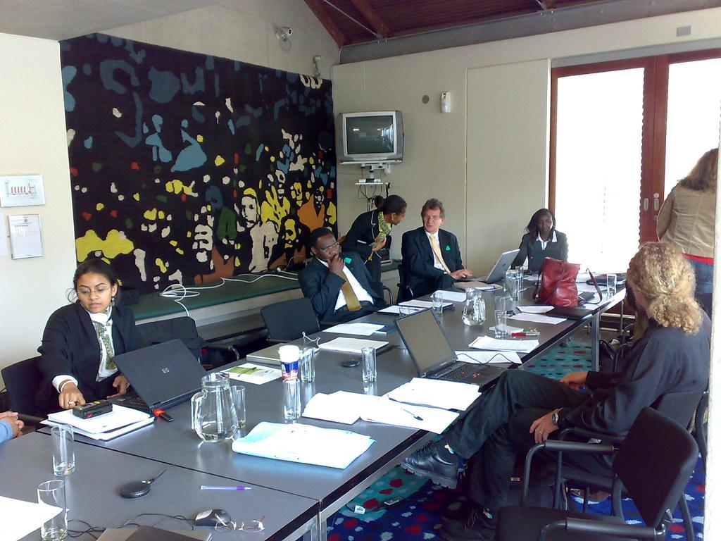 Attending a workshop at SAFLII