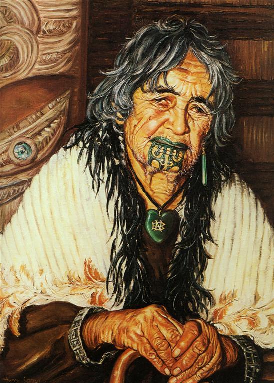 What Does The Maori Chin Tattoo Mean: Traditional Maori Chin Tattoo