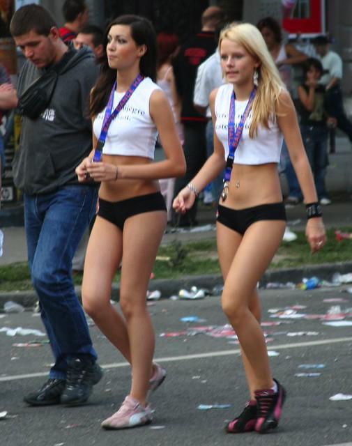 Sexy girls in budapest