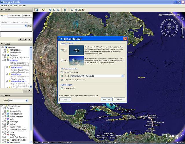 Google earth flight simulator download free mac