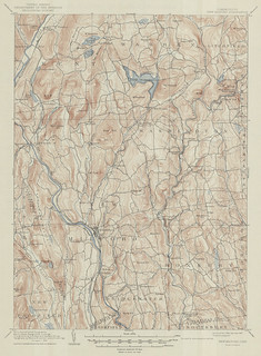 New Milford Quadrangle 1889 - USGS Topographic Map 1:62,500 | by uconnlibrariesmagic