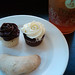 Mini Cupcakes and Iced Tea at Tynan