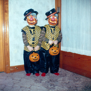 Freddie and Frankie on Halloween 1963 | by Fritz Liess