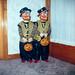 Freddie and Frankie on Halloween 1963
