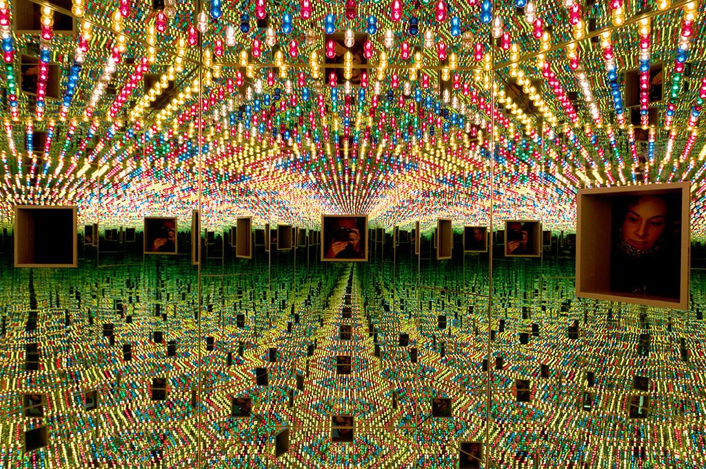 Yayoi Kusama Infinity Mirror Room Love Forever 1994