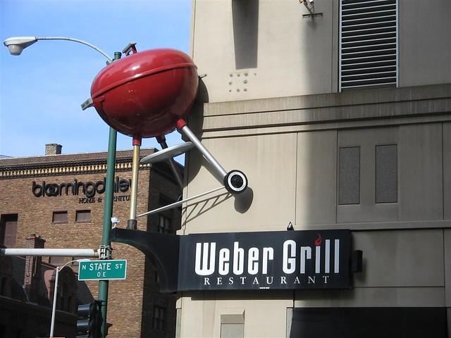 Weber Grill Restaurant Downtown Chicago