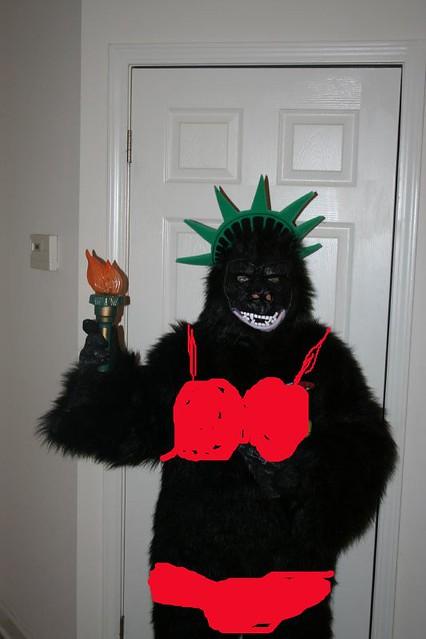 Gorilla in bikini picture girl porn