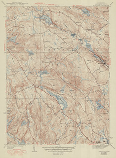 Montville Quadrangle 1950 - USGS Topographic Map 1:31,680 | by uconnlibrariesmagic
