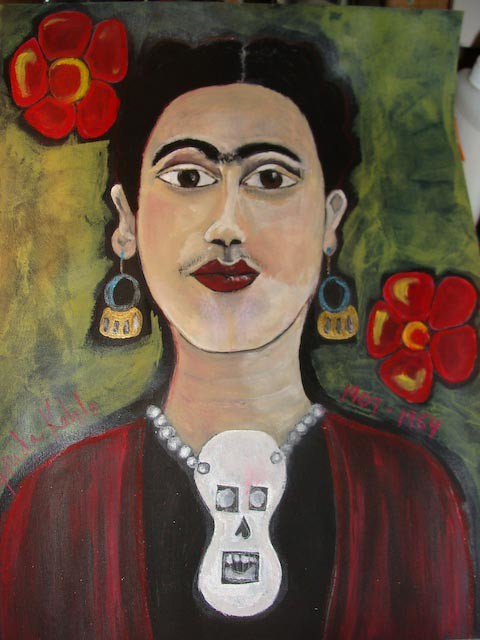 Theresa Huse 2010 Frida Kahlo | by Msartist Theresa Huse