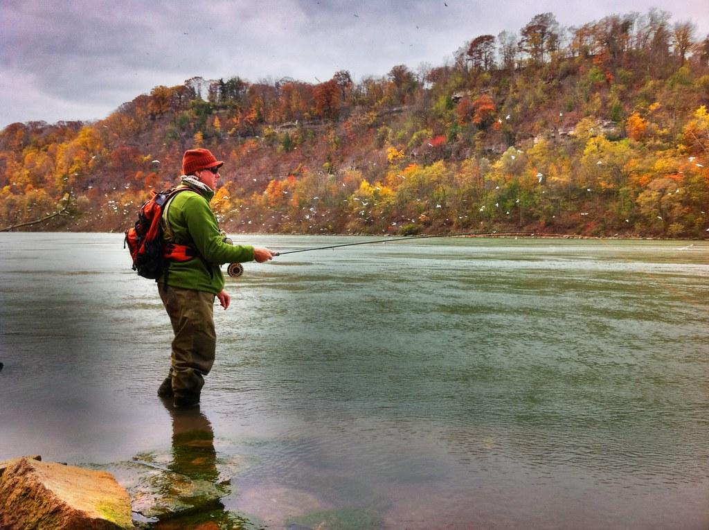 060 guide jason czora fishing the lower niagara river for Lower niagara river fishing report