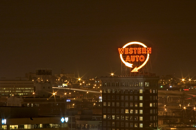 Kc Western Auto Sign Flickr Photo Sharing