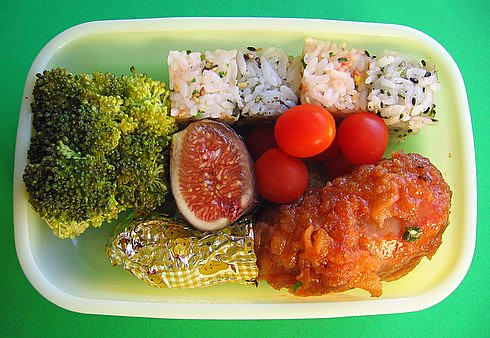 Square onigiri lunch for preschooler | by Biggie*