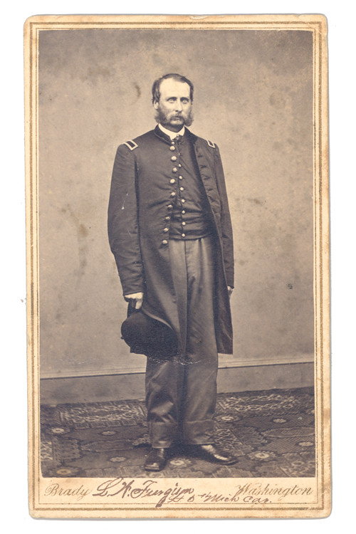 2nd Lieutenant Leander W Furgason 5th Michigan Cavalry
