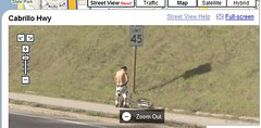 Google street view guy peeing | by EdWords