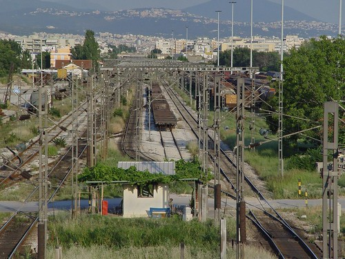 Railways - Train - Thessaloniki. View from RingRoad bridge | by Zopidis Lefteris