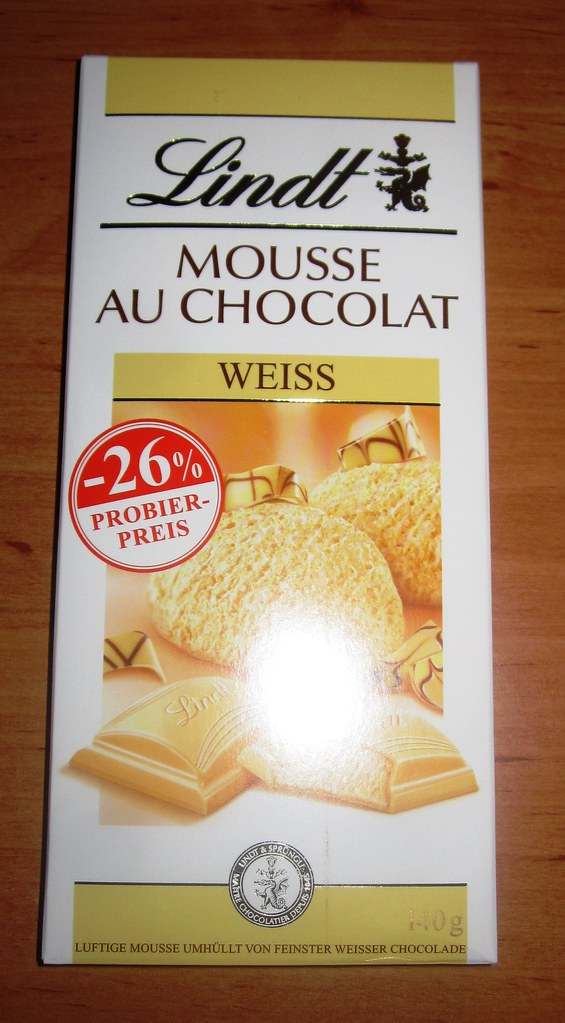 lindt mousse au chocolate weiss best white mousse chocolat flickr. Black Bedroom Furniture Sets. Home Design Ideas