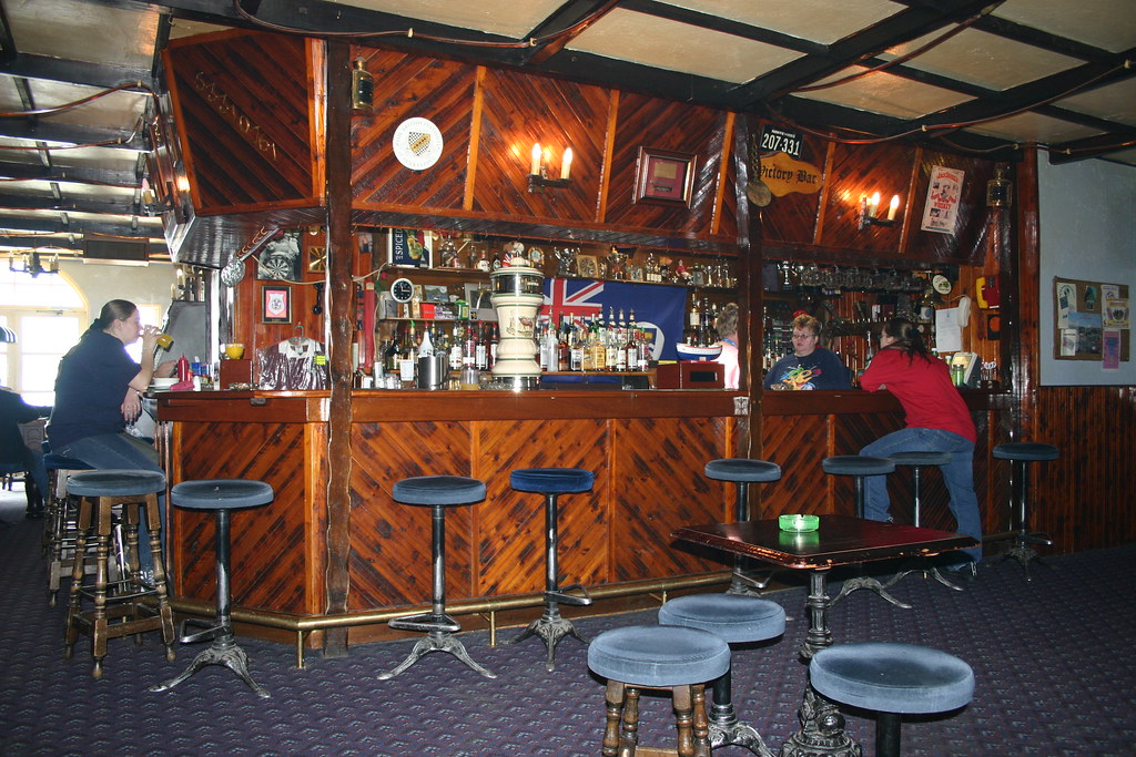 the victory bar port stanley falkland islands real