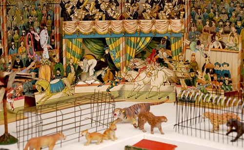 Toy Circus Scene | From the Toy Museum in Prague, Czech ...