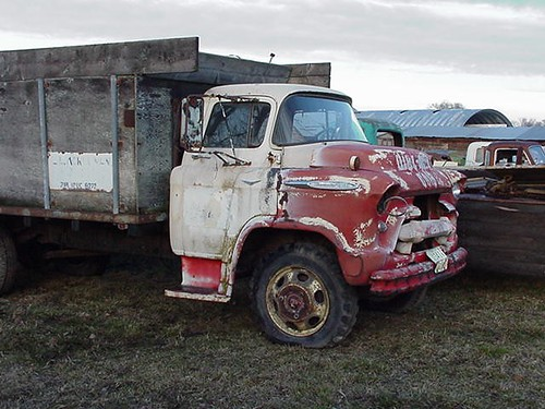 1957 chevy lcf truck | Flickr - Photo Sharing!