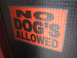 No Dog's Allowed | by LoopZilla