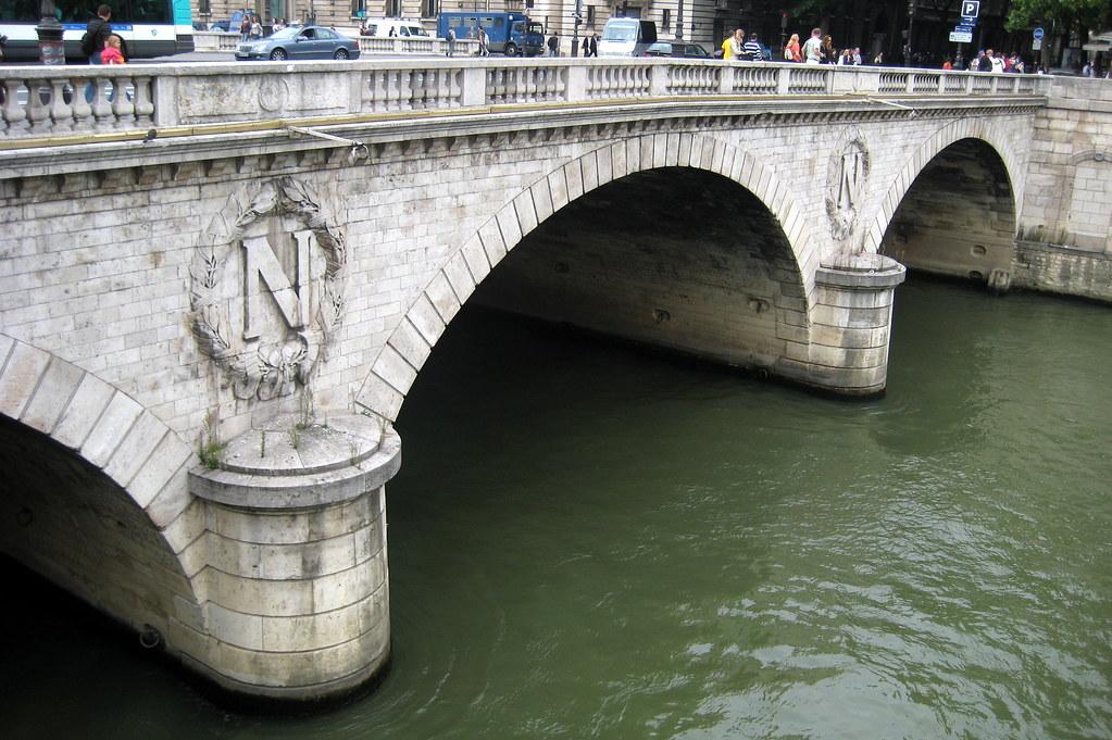 Saint Michel Paris France Paris Pont Saint Michel