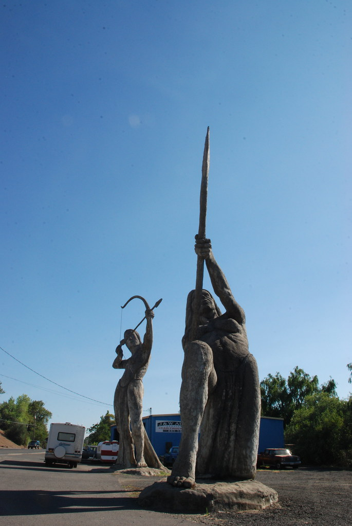 The Great Statues of Auburn, California | Enormous ...