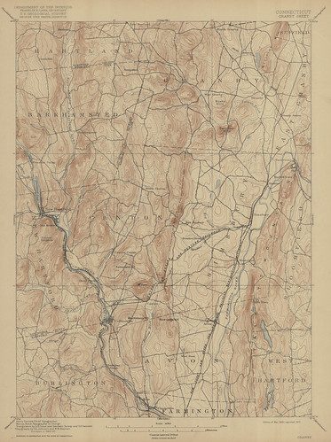 Granby Sheet 1917 - USGS Topographic Map 1:62,500 | by uconnlibrariesmagic