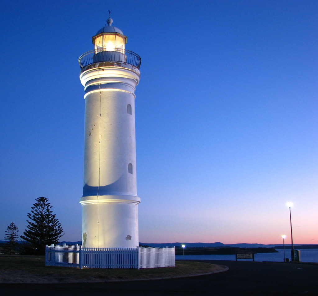 Kiama Lighthouse Kiama Lighthouse Nsw Australia Added