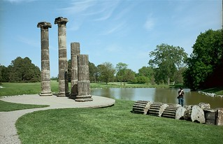 Photographing The Columns At Pioneers Park, May, 2010 | by Maggie Osterberg