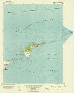 Plum Island Quadrangle 1954 - USGS Topographic Map 1:24,000 | by uconnlibrariesmagic