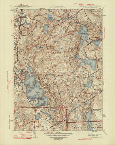Oxford Quadrangle 1946 - USGS Topographic Map 1:31,680 | by uconnlibrariesmagic