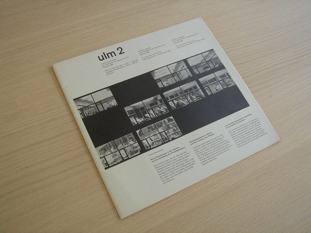 ulm 2 publication from the hochschule f r gestaltung ulm 2 flickr. Black Bedroom Furniture Sets. Home Design Ideas
