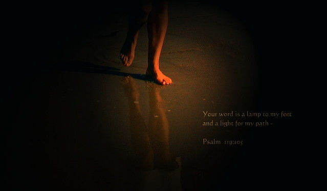 ... Your Word Is A Lamp To My Feet | By Honey 77