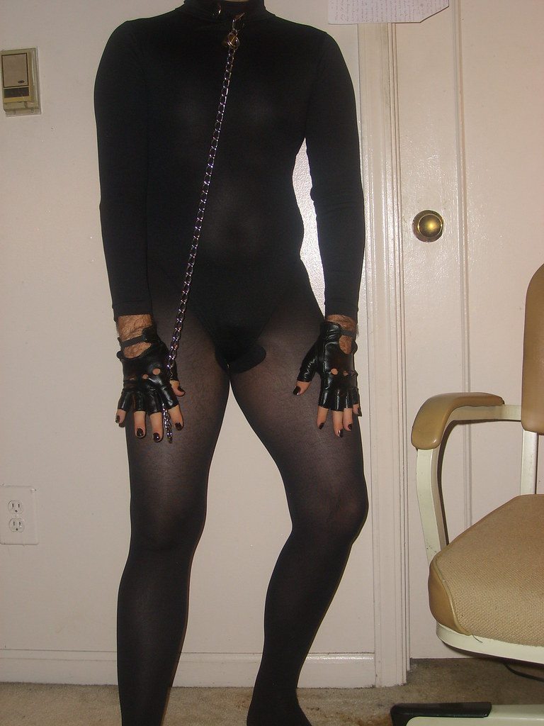 Picture 004 | In Black Leotard, with Black tights, and ...
