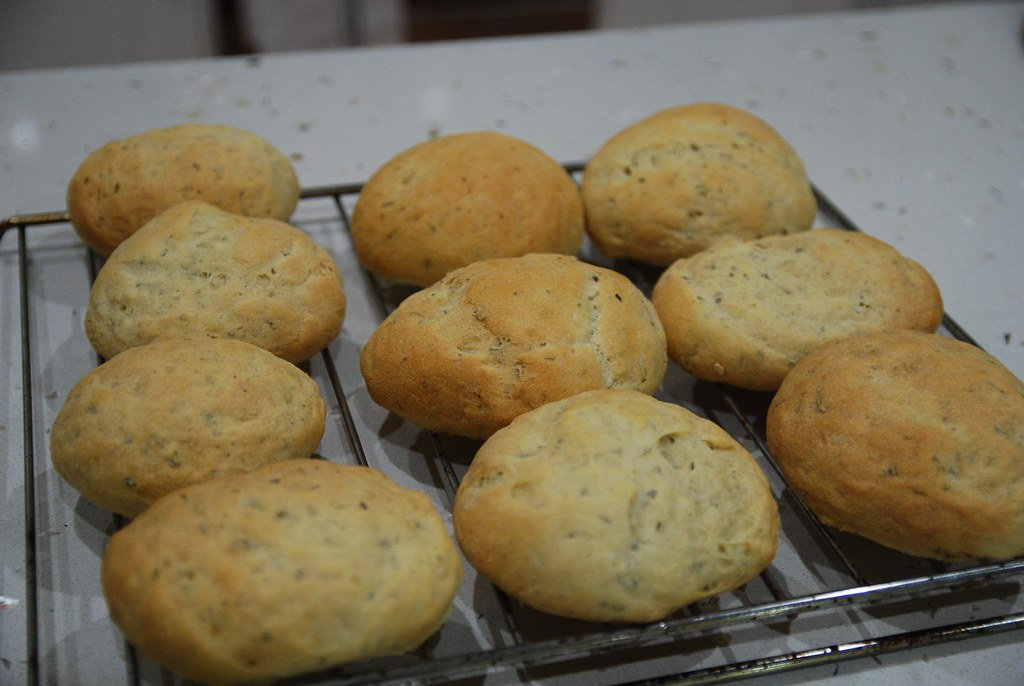 Julia's Potato and Rosemary Rolls | Good fluffy texture with ...