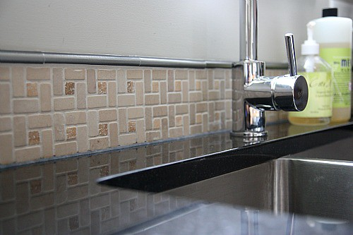 sink backsplash we only did a 6 backsplash on the sink wa