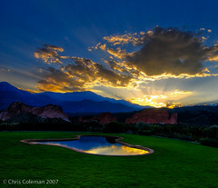 Sunset at the Garden of the Gods Club | by iceman9294